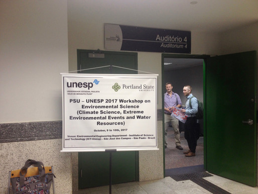 Workshop at UNESP for Brazilian and American scholars