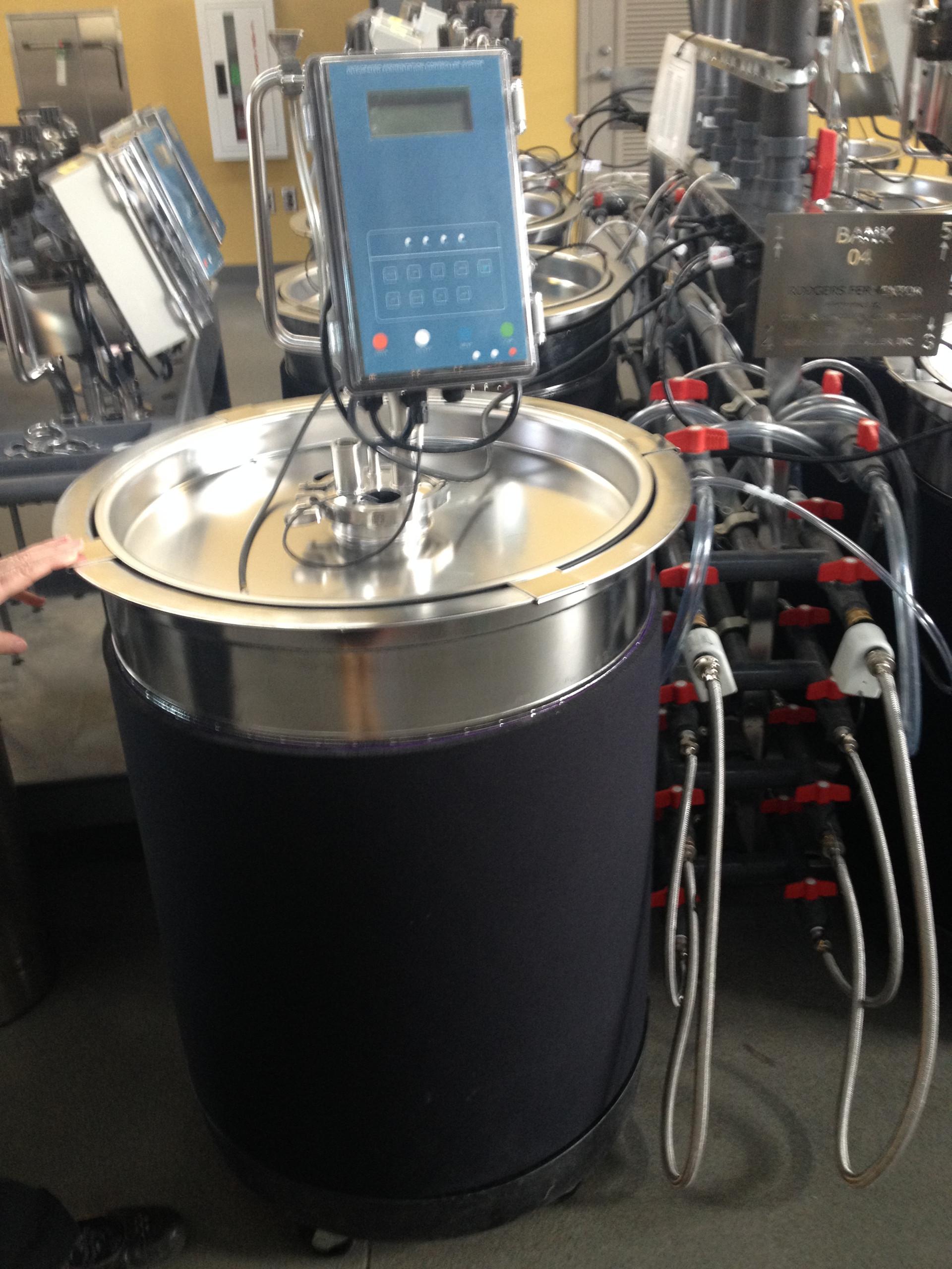 Zero water waste wine tank at UC Davis