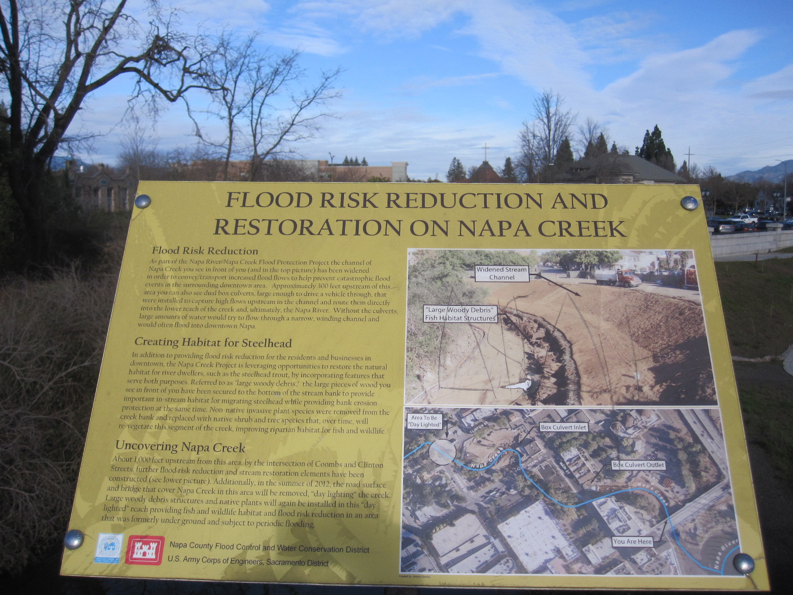 Learning about Napa River flooding
