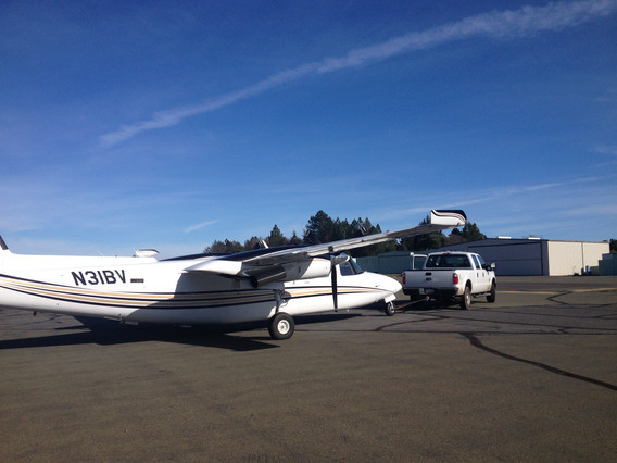 About to tour Napa County by air!