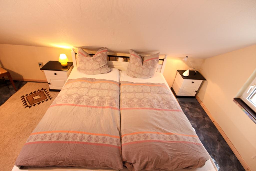 FeWo Ginko- Schlafzimmer 2