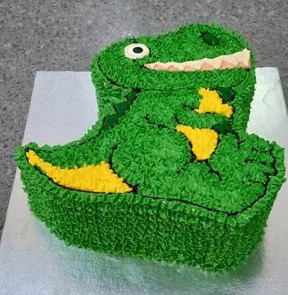 3D Cream Cake - Dinosaur (2.5-3kg)
