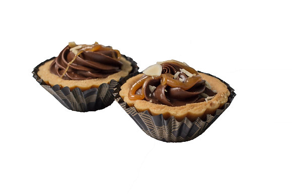 Tarts - Salted Caramel with Nutella