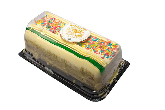 Block Cake - old school Vanilla sponge