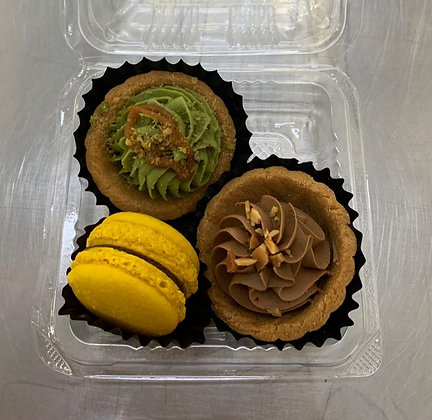 Corporate/ Party/ Gift Set #4:  Macaron + Tart + Tart