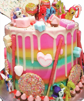 3D Cream Cake - fantasy (toys not included.)