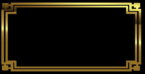 —Pngtree—gold frame design clipart png_5