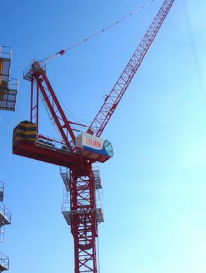 Luffing Tower Cranes EML ELMAK