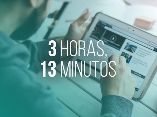 ¿Cuánto tiempo pasa el Argentino en Redes Sociales?