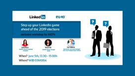 Teaching Linkedin to politicians