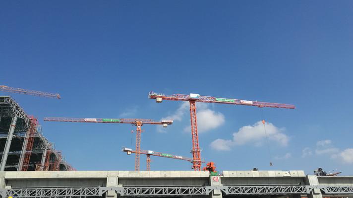 Flat Top Cranes ELMAK EMT