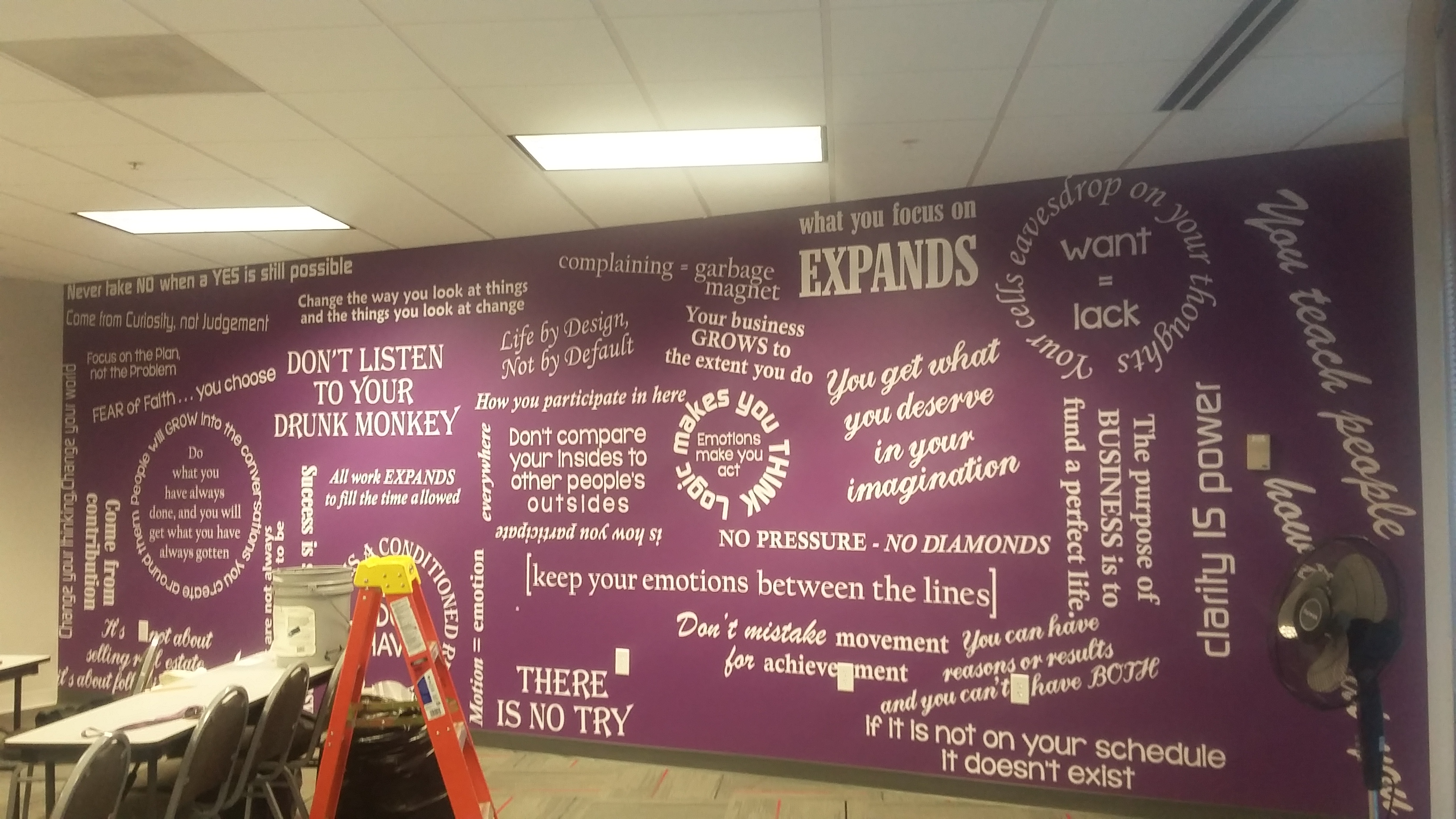 Training Room Wall