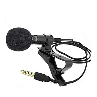 Micrófono de Solapa Lavalier Omnidireccional
