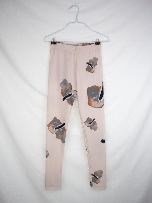 GOOSE sport leggings -Ivory