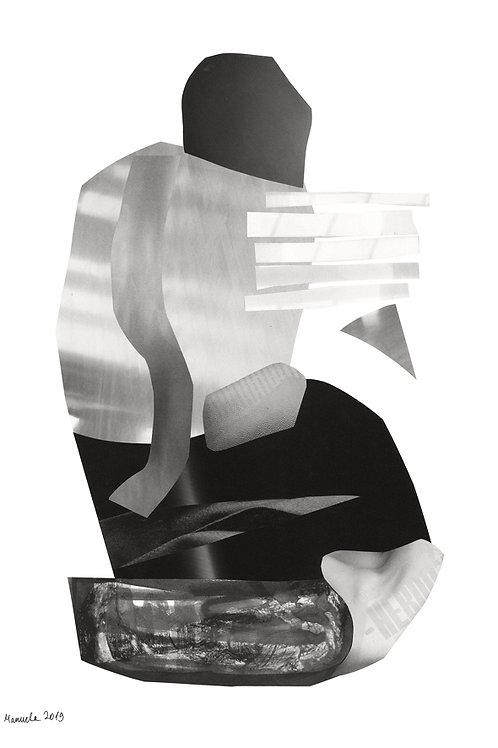 MAN - Art print