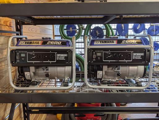 Yamaha Generators (Coming Soon!)