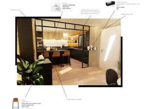 Rénovation et aménagement d'intérieur d'une maison par l'agence d'architecture intérieur & décoration WILDHOME