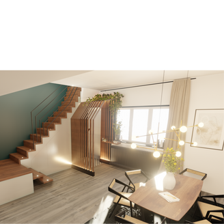 Rénovation d'un RdC de maison