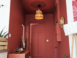 Rénovation et aménagement d'intérieur d'une entrée par l'agence d'architecture d'intérieur WILDHOME