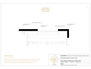 Rénovation et aménagement  d'intérieur d'une chambre d'adolescent par l'agence d'architecture d'intérieur WILDHOME