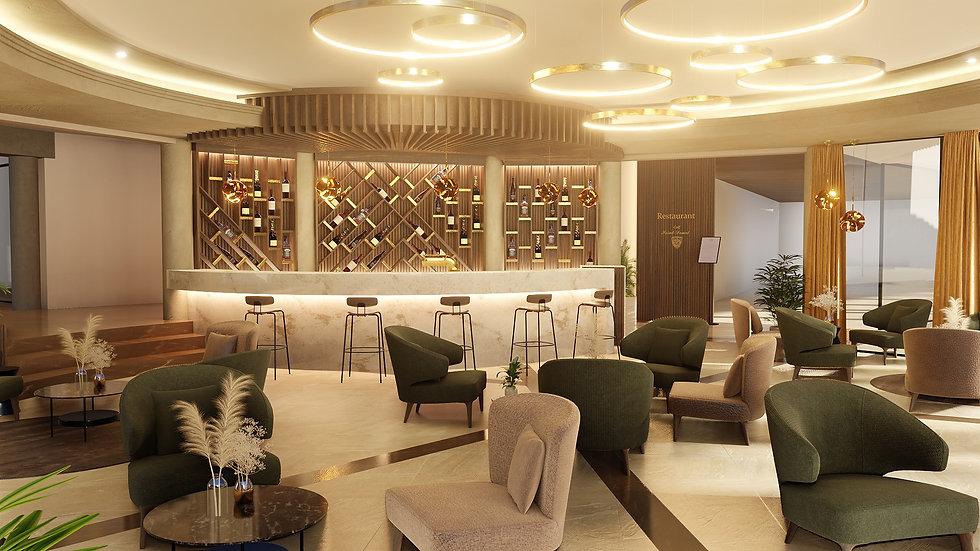 Rénovation et aménagement d'intérieur d'un Restaurant bar