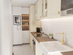 Rénovation et aménagement d'intérieur d'une cuisine par l'agence d'architecture d'intérieur & décoration WILDHOME