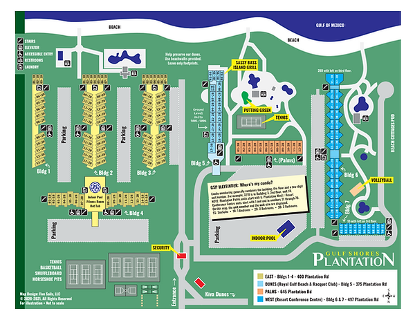 Resort Conference Center Map