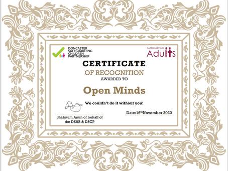 IMP;ACT Wins Safeguarding Award