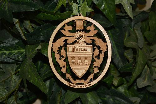 Family Crest ornament