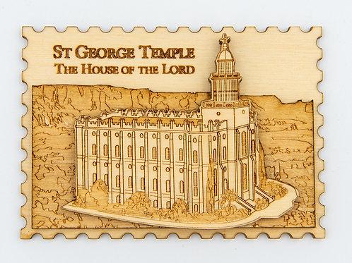 St. George Temple Magnet