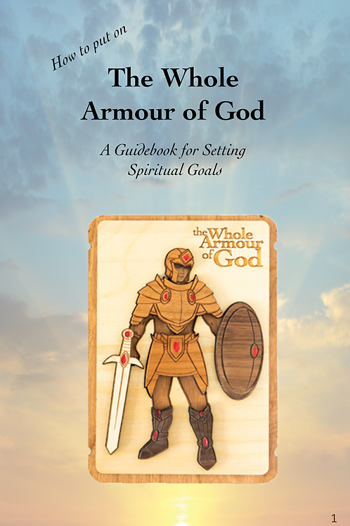 Whole Armour of God Digital Booklet for Boys