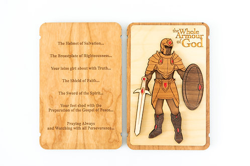 the Whole Armour of God - Male