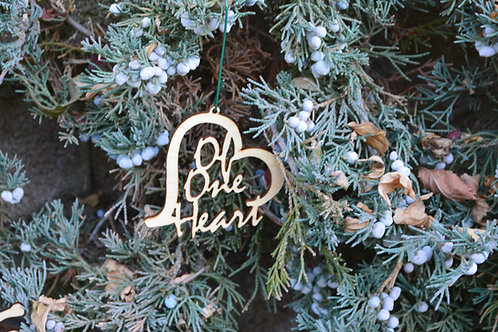 Of One Heart ornament