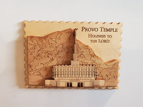 Provo Temple Fridge Magnet