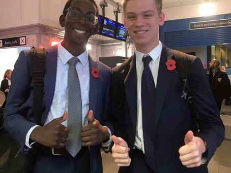 Medway's Young People Represented at the House of Commons