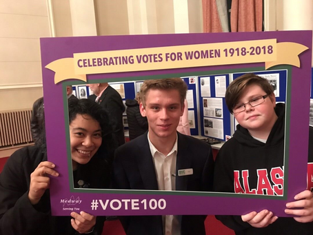 MYC Joins the Celebration of Votes For Women.