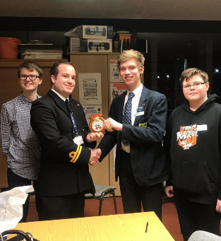 MYC Meets with HMS Medway