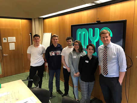 MYC meets with Kent's Police & Crime Commissioner.