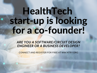 HealthTech start-up is looking for a co-founder!