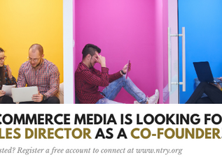 Start-up söker en säljchef som co-founder!