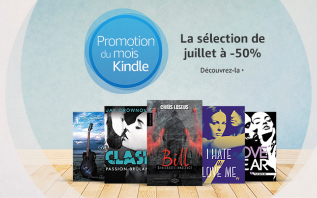 Bill en promotion du mois sur Amazon