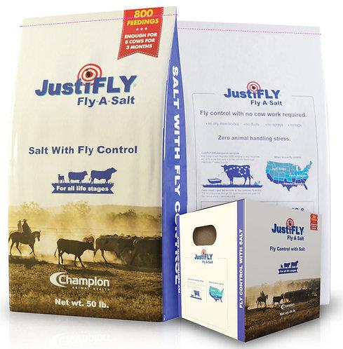 JUSTIFLY FLY-A-SALT LOOSE SALT BAG