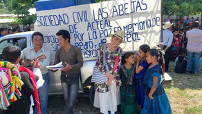 """Caravana por la Paz, en memoria de Simón Pedro"""