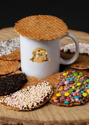 Stroopwafel on mug