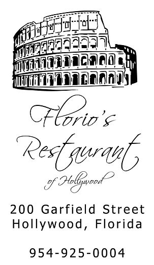 Florio's Hollywood Pizza Location