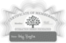 IDF Membership Certificate - Haley Bengt