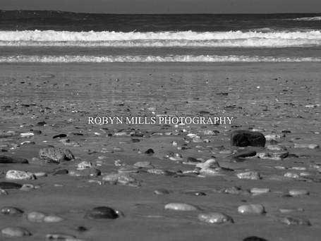 Pebbles on the beach 2/2