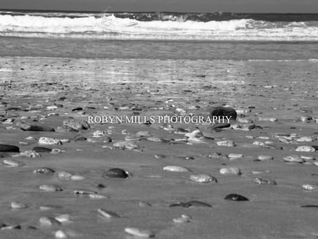 Pebbles on the beach 1/2