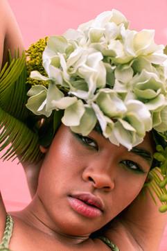 Flower Crown Series- Green