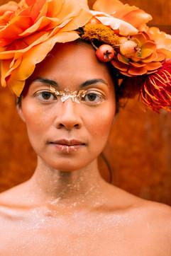 Flower Crown Series - Orange